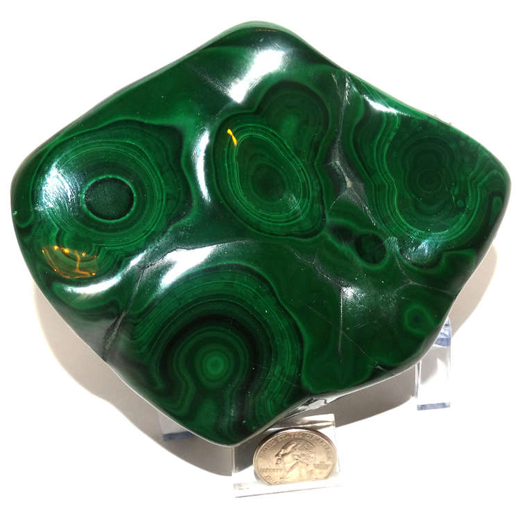 Malachite Polished Free form 1000