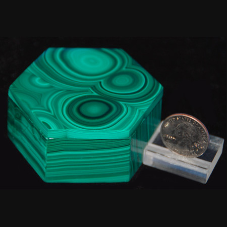 Malachite Jewelry Box 1010