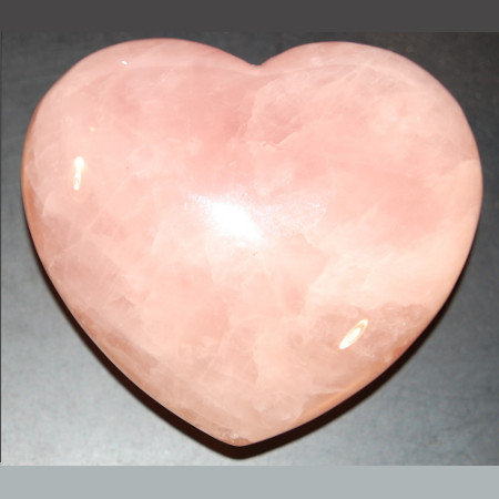 Rose Quartz Heart 1034