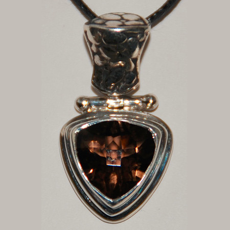 Smoky Quartz Pendant 1101